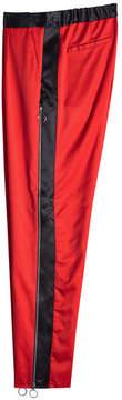 Marques Almeida Marques' Almeida Side Stripe Virgin Wool Pants with Zippers