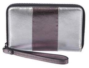 Marc by Marc Jacobs Metallic Leather Wristlet