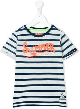 Vingino striped print T-shirt