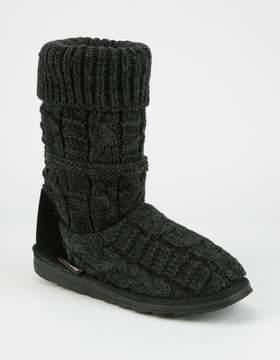 Muk Luks Cerine Womens Slipper Boots
