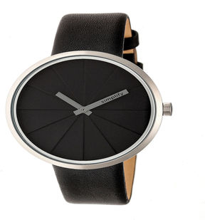 Simplify Unisex Black Strap Watch-Sim4007
