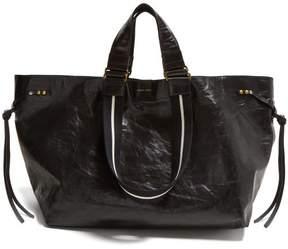 Isabel Marant Wardy Leather Shopper Bag - Womens - Black Multi