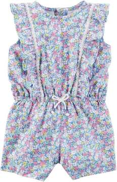 Carter's Baby Girls Floral Ruffle Romper