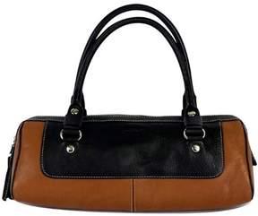 Kate Spade Black & Tan Leather Shoulder Bag - TAN - STYLE