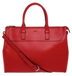 Lodis Audrey Wilhelmina Leather Work Satchel - Red
