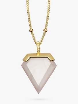 Missoma Rose Quartz Necklace