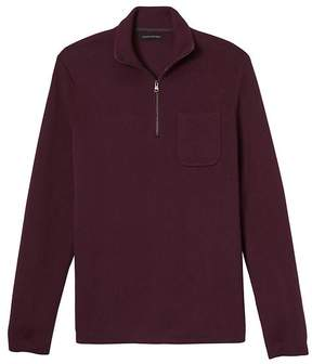 Banana Republic Half-Zip Pullover with COOLMAX® Technology