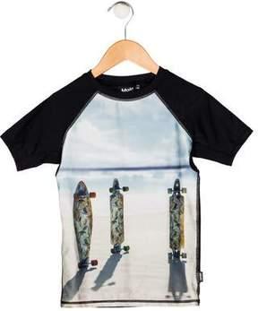 Molo Boys' Printed Swim Shirt