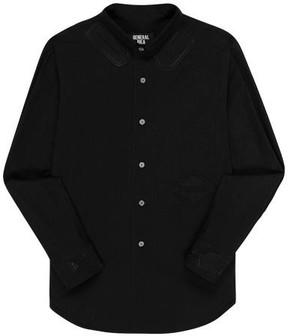 General Idea Patch Shirt Black