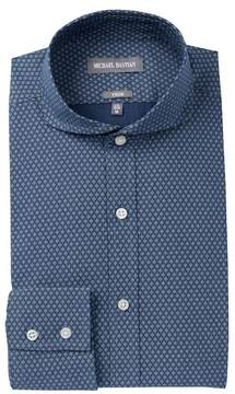 Michael Bastian Diamond Print Trim Fit Dress Shirt