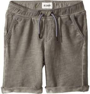 Hudson Pigment Dye Pull-On Shorts in Silver Cloud (Toddler/Little Kids/Big Kids)