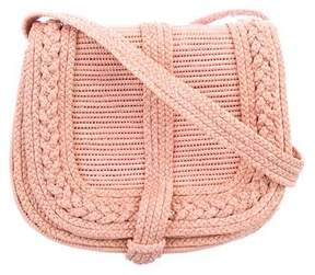 Ralph Lauren Raffia Crossbody Bag