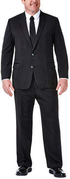 Haggar Travel Performance Heather Pinstripe Classic Fit Suit Jacket - Big & Tall