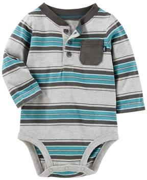 Osh Kosh Baby Boy Striped Bodysuit