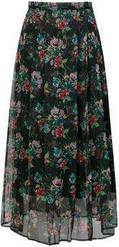 Christopher Kane archive floral pleated skirt