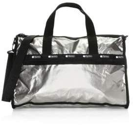 Le Sport Sac Candace Patent Weekender