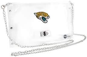 clear Officially Licensed NFL Envelope Purse - Jaguars