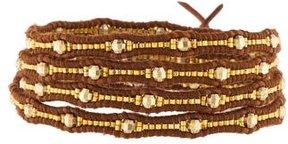 Chan Luu Bead Leather Wrap Bracelet
