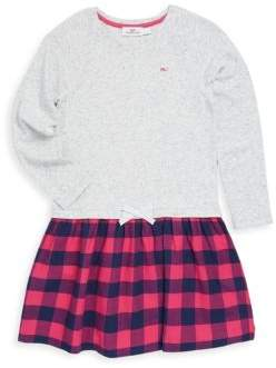 Vineyard Vines Toddler's, Little Girl's& Girl's Buffalo Check Dress