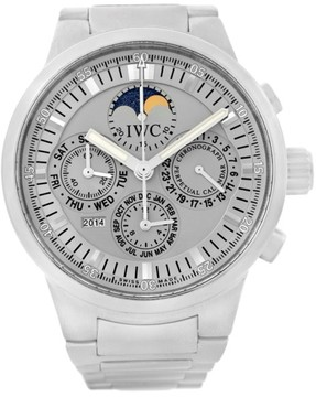 IWC GST IW375607 Moonphase Stainless Steel 43.0mm Mens Watch