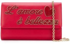 Dolce & Gabbana L'Amour clutch bag