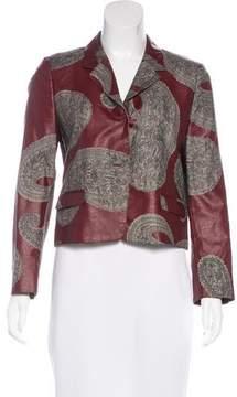 Dries Van Noten Silk Printed Jacket