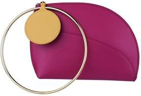 Roksanda Leather Eartha Clutch Bag