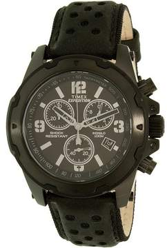 Timex Men's Expedition TW4B01400 Black Leather Analog Quartz Dress Watch