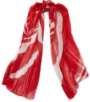 Ralph Lauren Mixed-Stripe Scarf