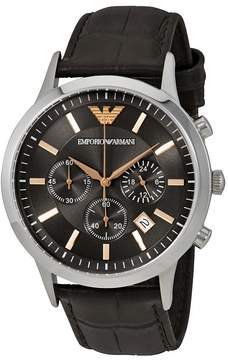 Giorgio Armani Renato Grey Dial Men's Chronograph Watch
