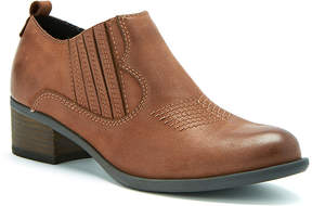 Blondo Cognac Maddox Leather Ankle Boot
