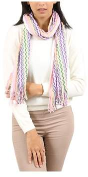 Missoni Purple/pink Checkered Scarf.