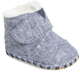 Toms Tiny Cuna Faux Fur Crib Bootie
