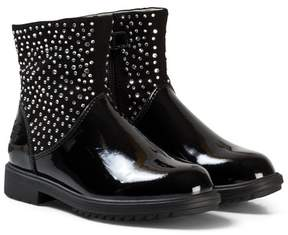 Lelli Kelly Kids Black Joyce Diamante Ankle Boots