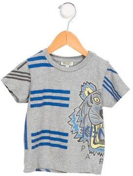Kenzo Boys' Logo Striped T-Shirt