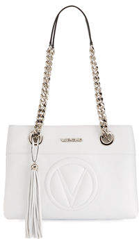 Mario Valentino Valentino By Kali Sauvage Leather Tassel Shoulder Bag