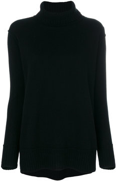 Allude roll-neck sweater