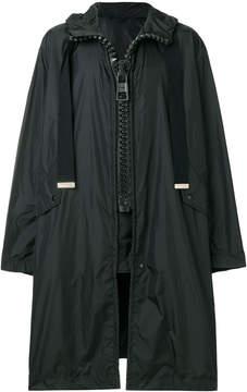 Miharayasuhiro large ziped parka coat