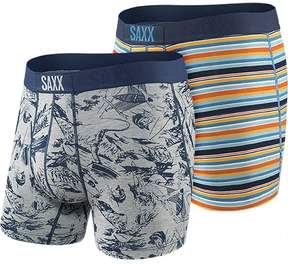 Saxx Vibe Father's Day Fisherman Boxer - 2 Pack - Men's