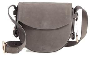 Skagen Lobelle Nubuck Saddle Bag - Grey