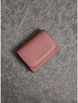 Burberry Grainy Leather Card Case - DUSTY PINK - STYLE