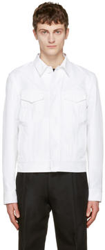 Calvin Klein Collection White Richmond Jacket