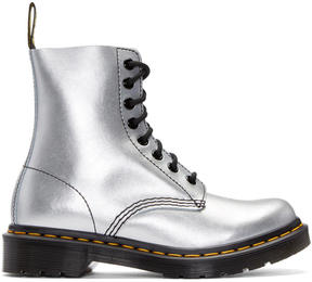 Dr. Martens Silver Eight-Eye Pascal Boots