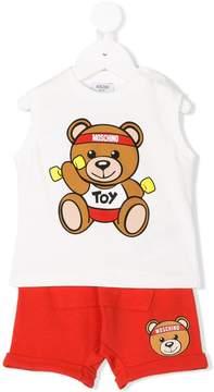 Moschino Kids teddy bear set