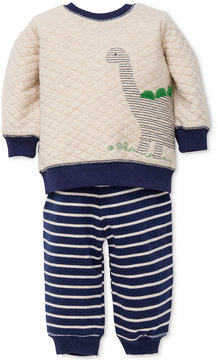 Little Me 2-Pc. Dinosaur Sweatshirt & Pants Set, Baby Boys (0-24 months)