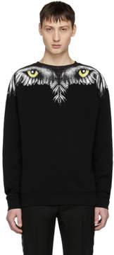 Marcelo Burlon County of Milan Black Eye Wing Sweatshirt