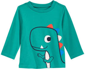 First Impressions T-Rex-Print Cotton T-Shirt, Baby Boys (0-24 months), Created for Macy's