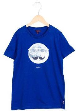 Paul Smith Boys' Moon Print Short Sleeve Shirt