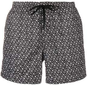 fe-fe star print swim shorts