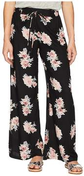 Angie Floral Pants Women's Casual Pants